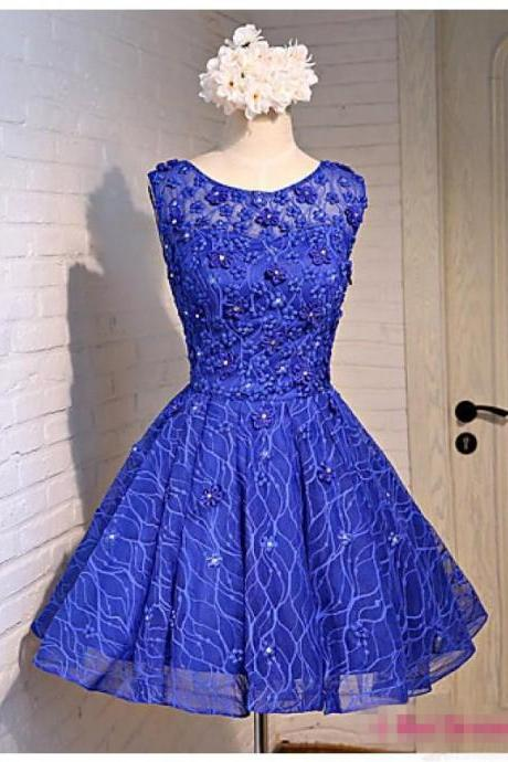 Lace Homecoming Dresses, Charming Homecoming Dresses, Appliques Homecoming Dresses, Homecoming Dresses, Dresses For Prom,Short Prom Dresses, Cheap Homecoming Dresses, Juniors Homecoming Dress