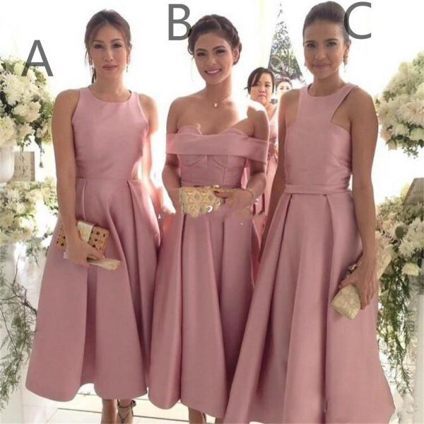 Charming Bridesmaid Dress, Sexy A Line Bridesmaid Dresses, Wedding Party Gown